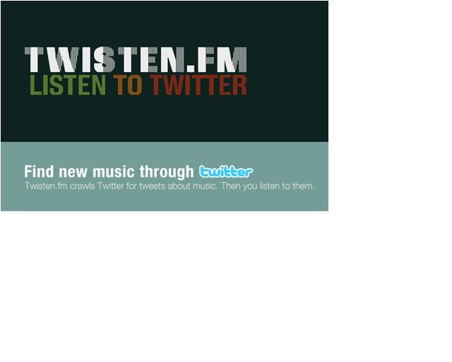 Music and Twitter, together at last