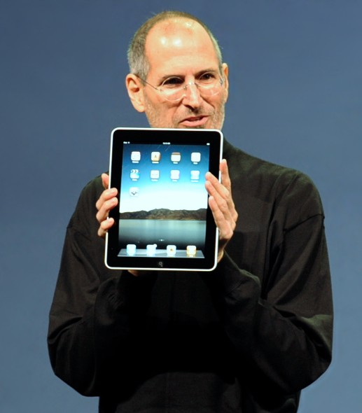 Steve Job introduces the iPad
