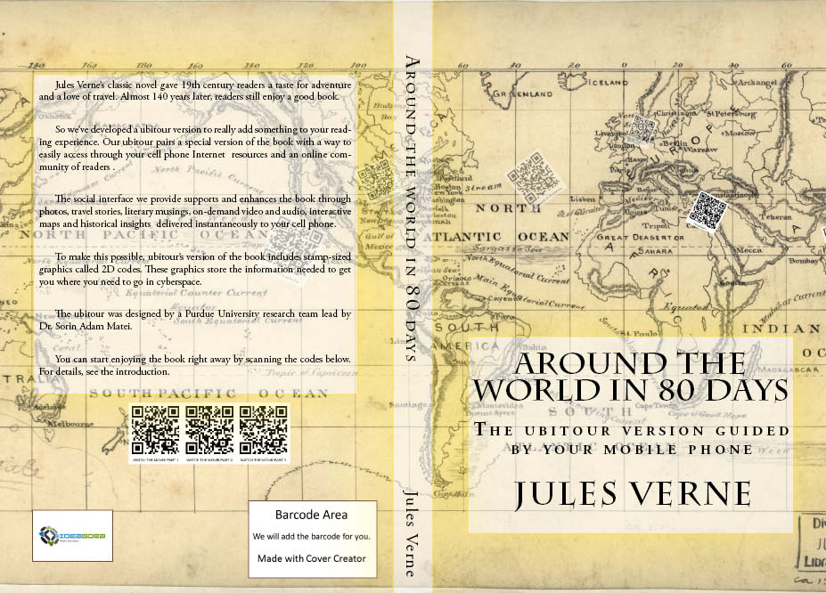 Around the World in 80 Days Ubitour Cover