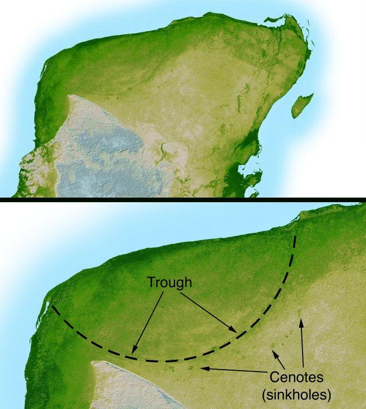 Yucatan  crater