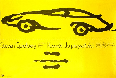 Polish Poster for Back to the Future Movie