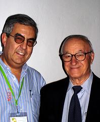 Emilio Moyano y Albert Bandura
