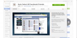 Chrome Web Store - Auto Select All Facebook Friends