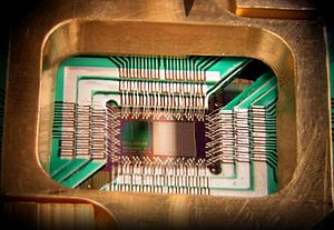 Quantum Computing Chip for Dwave