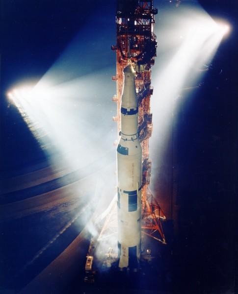 Apollo 13 Saturn V Rocketship Prelaunch