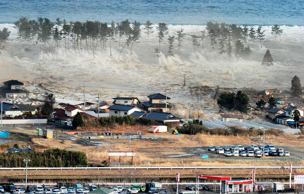 Sendai Earthquake and Tsunami slideshow photos