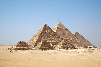 View The Great Pyramids of Giza in 3D through Google Maps