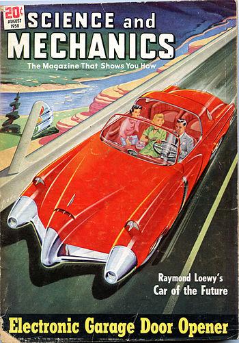 Car of the Future 1950 unrestored