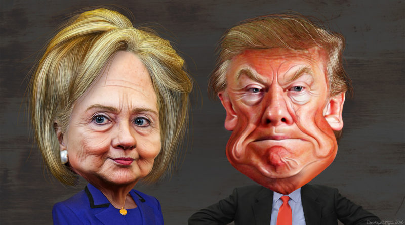 Hillary Clinton vs Donald Trump 2016