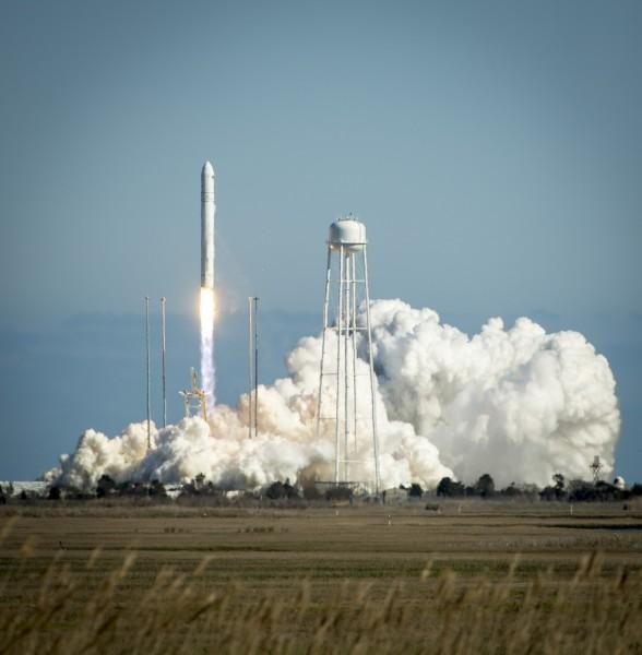 Nasa Rocket Launch Credit Cc License
